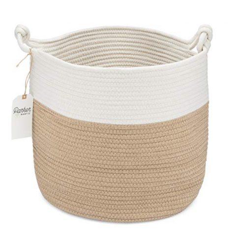 Parker rope storage basket