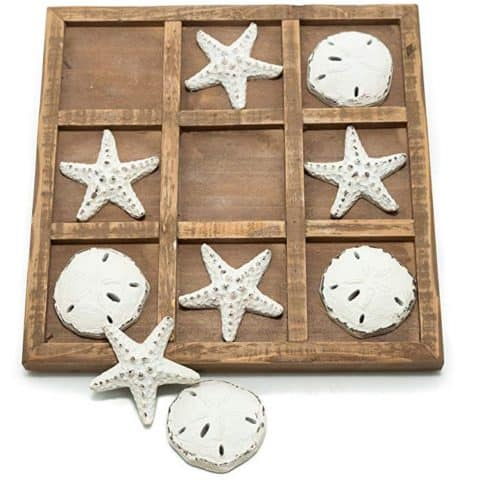 Nikky Home Wood Tic Tac Toe