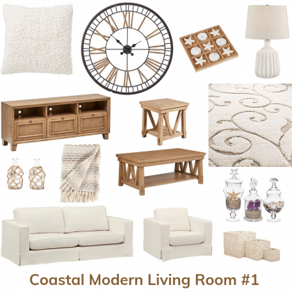 Coastal Modern Living Room