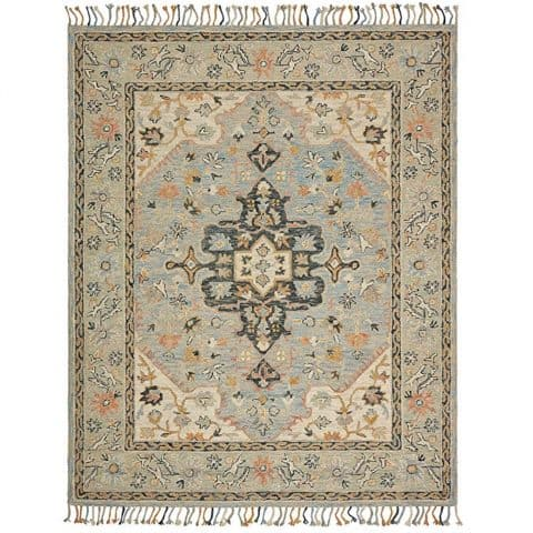 Stone & Beam Garrison Vintage Pattern Wool Area Rug