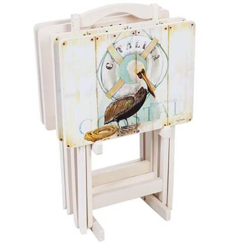 Cape Craftsmen Shore Birds TV Trays