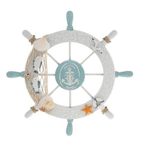 Rienar Wooden Ship Wheel