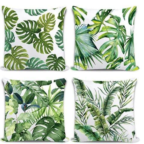 Whaline Tropical Pillow Covers 18 x 18
