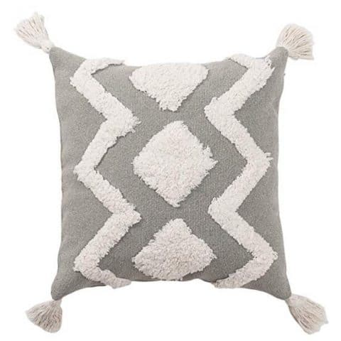 blue page Tribal Boho Pillow Cover