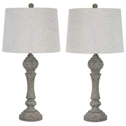 Grandview Gallery Grey Lamps