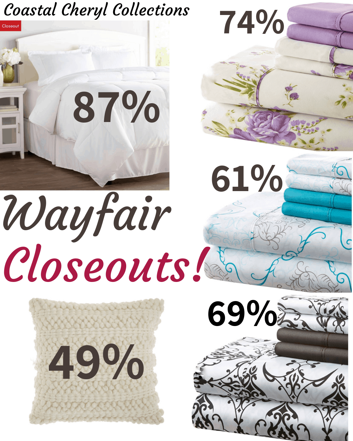 Wayfair Labor Day closeouts