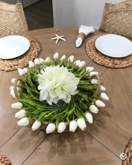 DIY Spring Table Centerpiece