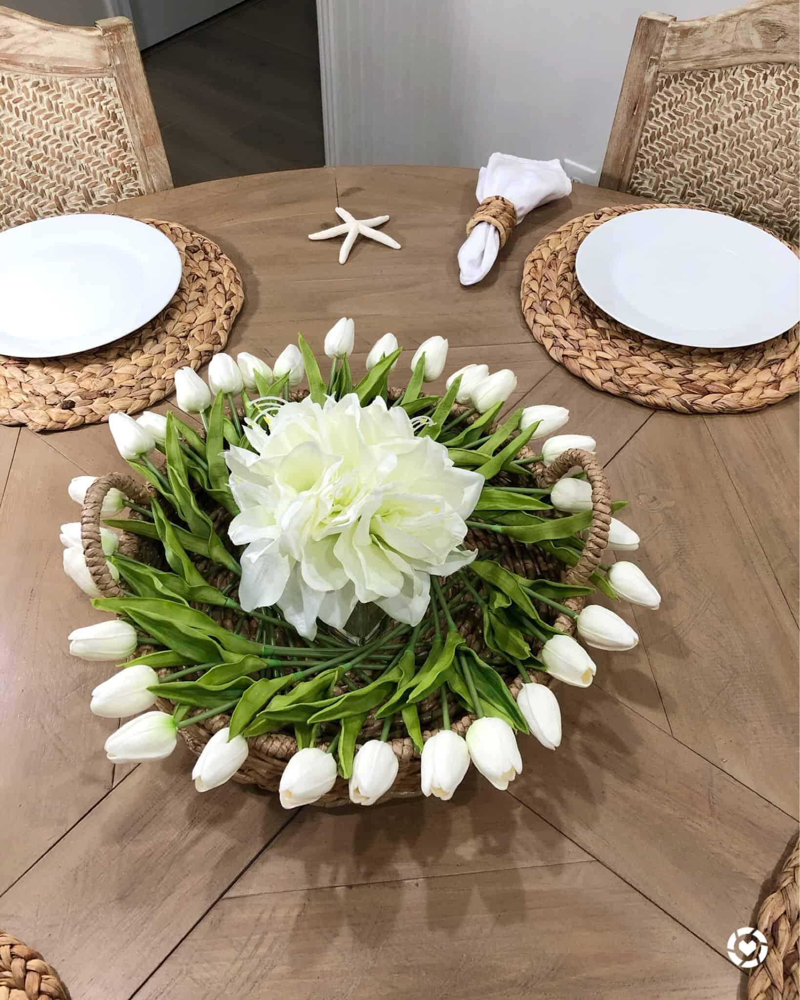 DIY Spring Table Centerpiece
