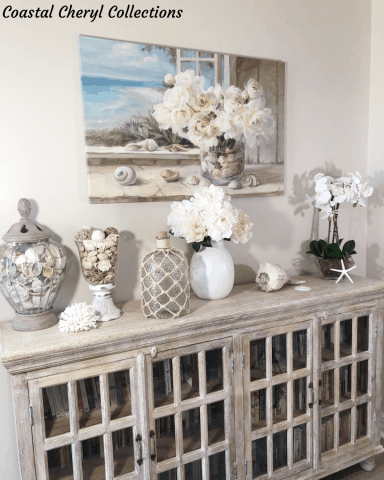 Coastal Accent Cabinet Style