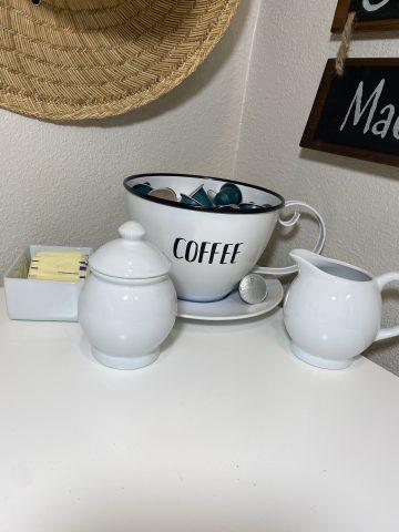 coffee creamer set